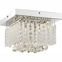 Plafoniera LED cu cristale Mathilda 68396-12 Globo