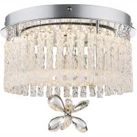 Plafoniera LED patrata cu cristale K9 Mathilda 68397-12 Globo