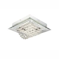 Plafoniera LED cu cristale si sticla Scala 68405-12 Globo