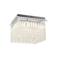 Plafoniera LED patrata cu tije de sticla Vince 68567-18A Globo