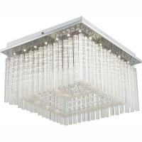 Plafoniera LED cu cristale transparente Vince 68567-21 Globo