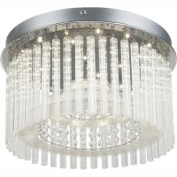 Plafoniera LED cu cristale K5 transparente Joyce 68568-18 Globo