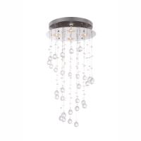 Plafoniera LED casa scarii cu cristale St. Tropez 68595-4 Globo