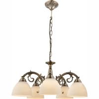 Candelabru clasic bogat ornamentat, Silas 69023-5 Globo