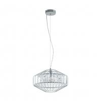 Pendul warm and cosy cu cristal transparent Pedrola 96987 Eglo, D:40cm
