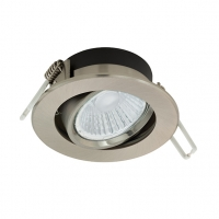 Spot incastrabil nichel cu 6W-LED inclus, Ranera 97028 Eglo