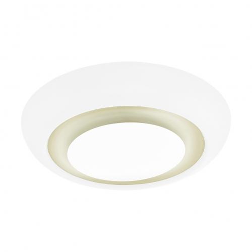 Plafoniera LED din sticla si sintetic alb Canuma 97038 Eglo, Ø420