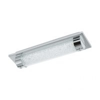 Aplica LED de baie cu cristale Tolorico 97054, 8W, 1100lm, 400K, 35cm
