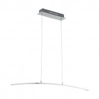 Suspensie curbata cu LED alb cald pentru masa, Flagranera 97064 Eglo, L:100cm