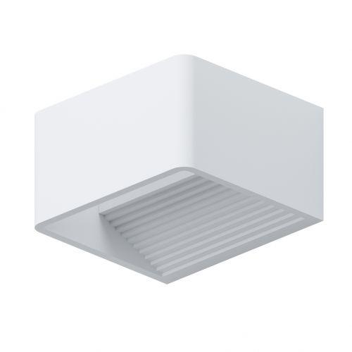 Doninni 96497 Eglo, aplica LED cubica alba de exterior