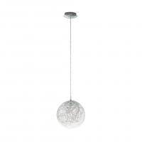 Valenca 49891 Eglo, pendul LED Ø250 crom cu sticla transparenta