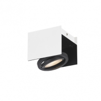 Vidago 39315 Eglo, spot LED orientabil alb/negru, 510 lumeni
