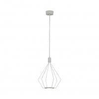 Cados 39319 Eglo, pendul retro alb Ø335 cu 2 becuri LED