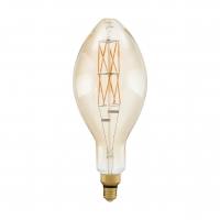 Bec Big Size E27-LED E140 8W AMBER 2100K alb cald dimabil