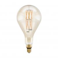 Bec Big Size E27-LED PS160 8W AMBER 2100K alb cald dimabil