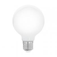 Bec Milky E27-LED-G80 5W OPAL 2700K cu balon de sticla opal