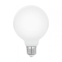 Bec Milky E27-LED-G95 5W OPAL 2700K cu lumina omogena