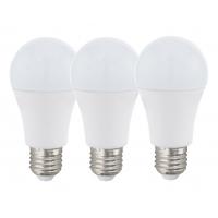 Set 3 becuri smart LED E27-A60 RGBW 7,5W inclusiv telecomanda