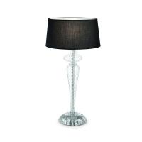 Lampa de bufet cu corp din sticla Forcola Tl1 Nero 142609