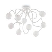 Plafoniera cu 9 brate flexibile orientabile Octopus Pl9 Bianco 174990