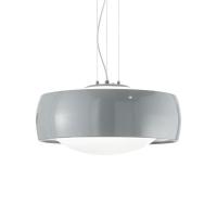 Pendul ultramodern otel si sticla Comfort Sp1 Grigio 159560