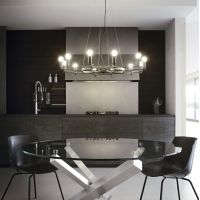Candelabru ultramodern Space Sp12 Nero 165066