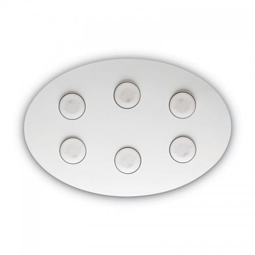 Plafoniera Logos Pl6 Bianco 175799