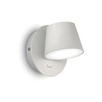 Aplica minimalista din aluminiu cu LED si intrerupator Gim Ap1 Bianco 167152