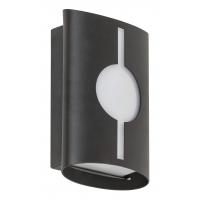 Aplica minimalista IP54 din inox negru cu fanta circulara, Baltimore 8732