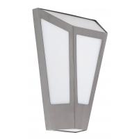Aplica moderna de exterior din inox IP44 argintie, York 8791