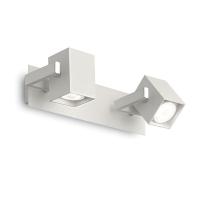 Spot design cu 2 cuburi orientabile, Mouse Ap2 Bianco 073545