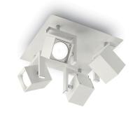 Spot patrat cu 4 cuburi orientabile, Mouse Pl4 Bianco 073583
