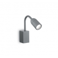 Lampa de citit protejata si pentru exterior IP44, Loop Ap1 Antracite 179155