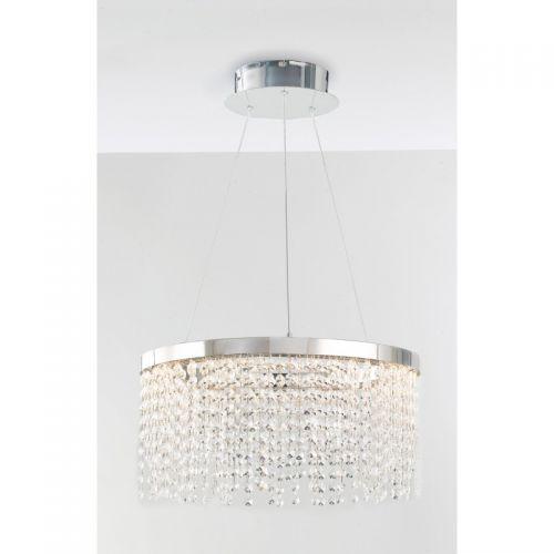 Lustra LED VENUS CROMO CRISTALLI K9 4000K 3600lm 45W