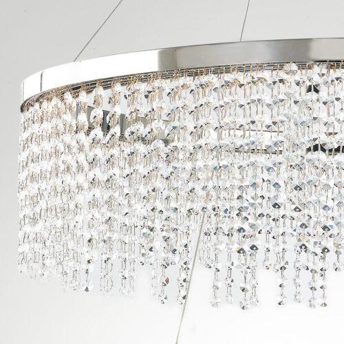Lustra LED VENUS CROMO CRISTALLI K9 4000K 6640lm 83W