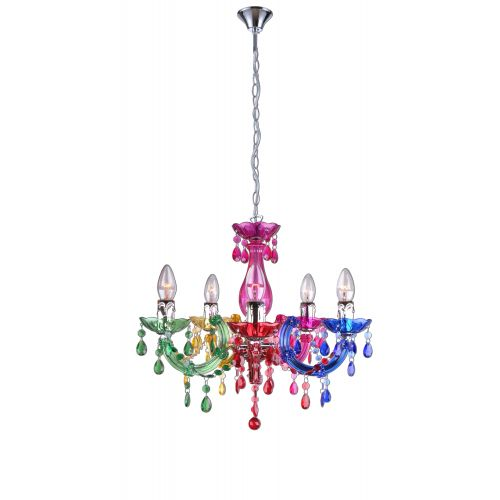 Candelabru HOUSTON MULTICOLOR 5XE14