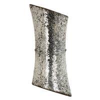 Aplica MARCONI 2x40W E14 mozaic argintiu