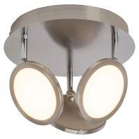 Spot PLUTO 3x5W LED nichel