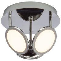 Spot PLUTO 3x5W LED crom