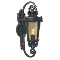 Aplica clasica supradimensionata BALTIMORE Medium, bronz, H:55cm, IP44