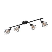 Spot 4xG9-LED negru/ambra Zapata 1