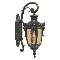 Aplica orientata in jos PHILADELPHIA Medium, bronz, H:52cm, IP44