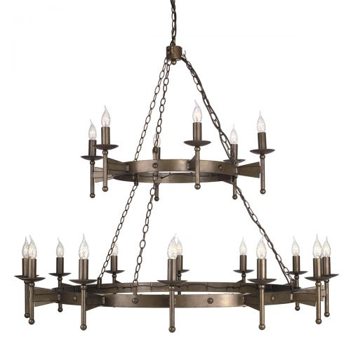Candelabru CROMWELL, bronz, H:600cm, 18 becuri
