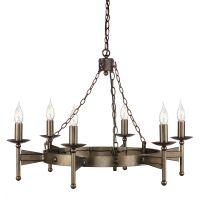 Candelabru CROMWELL, bronz, H:281cm, 6 becuri
