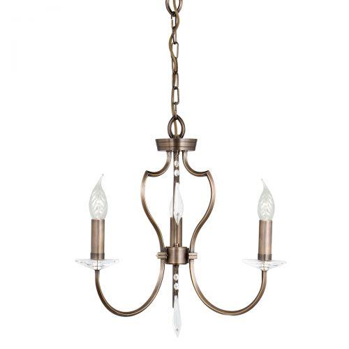 Lustra PIMLICO, bronz, H:120cm, 3 becuri