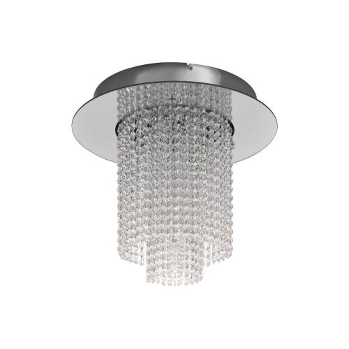 Candelabru cristal VILALONES, crom, D:50cm