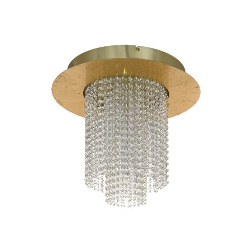 Candelabru cristal VILALONES, auriu, D:50cm