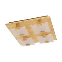 Plafoniera LED cristal VICARO 1, L:27cm
