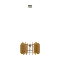 Pendul sufragerie cu lamele nichel mat/artar TREGLIO