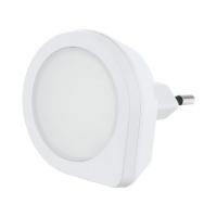 Lampa de veghe LED cu senzor de lumina TINEO, alba, L:6cm